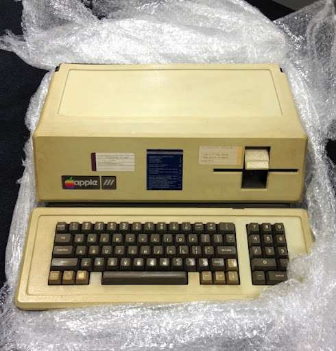 Apple iii bubblewrapped