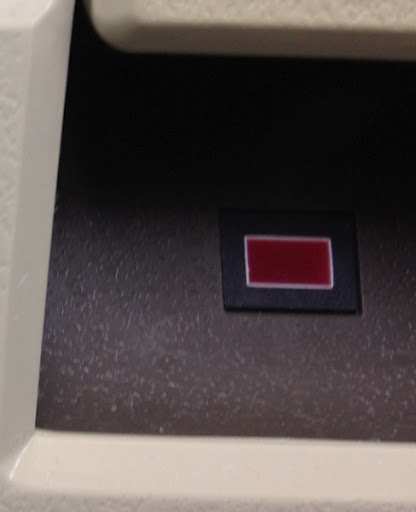 Apple3 disk3 led