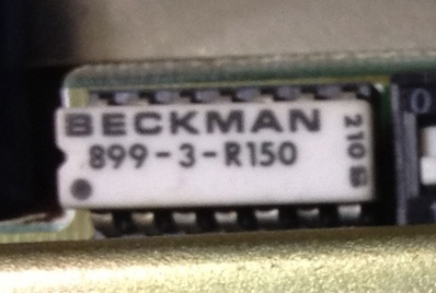 Beckman8993R150 chip