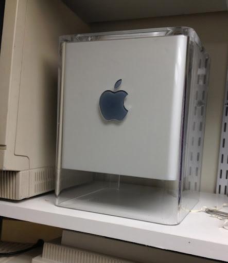 Cube shelved