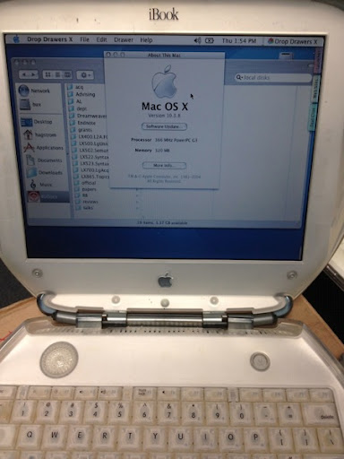 Ibook se open