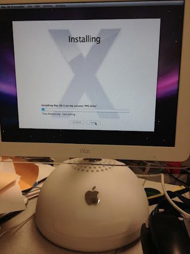 Imacg41ghz osx install
