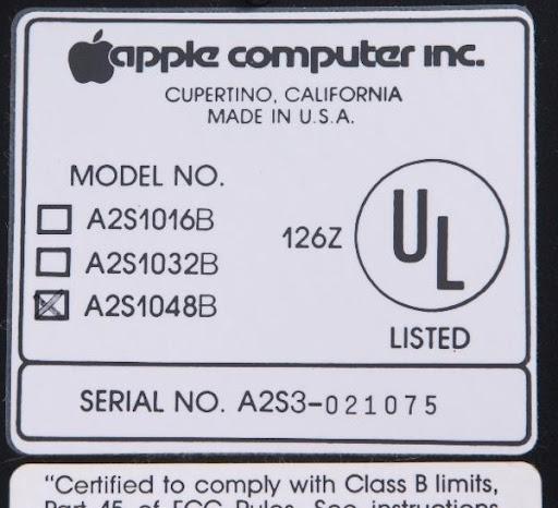 Label bh021075