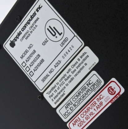Label bh8426
