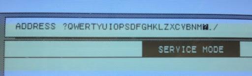 Lisa new keyboard qwertyuiop
