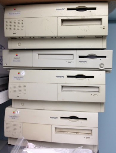 Tower of powermacs