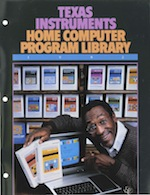 Ti home computer program library 1982