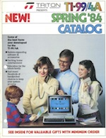 Triton catalog 1984spring