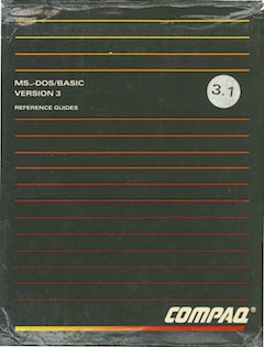 Compaq msdos basic box front thumb