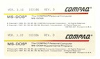 Compaq msdos basic box labels thumb