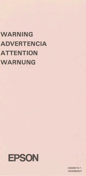 Px8 warning