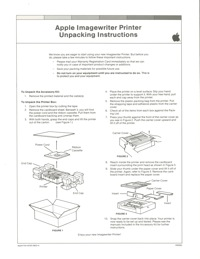 Imagewriter unpacking instructions