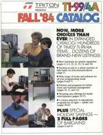 Triton catalog 1984fall
