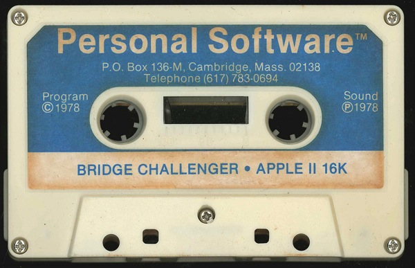 Bridge challenger tape front
