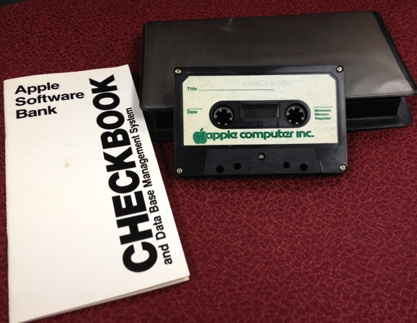 Checkbook tape set