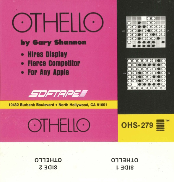 Othello tape cover