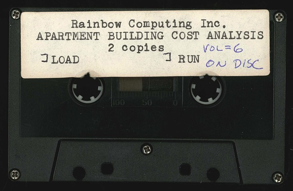 Rainbow apt building cost tape front