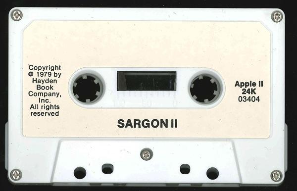 Sargon ii tape front
