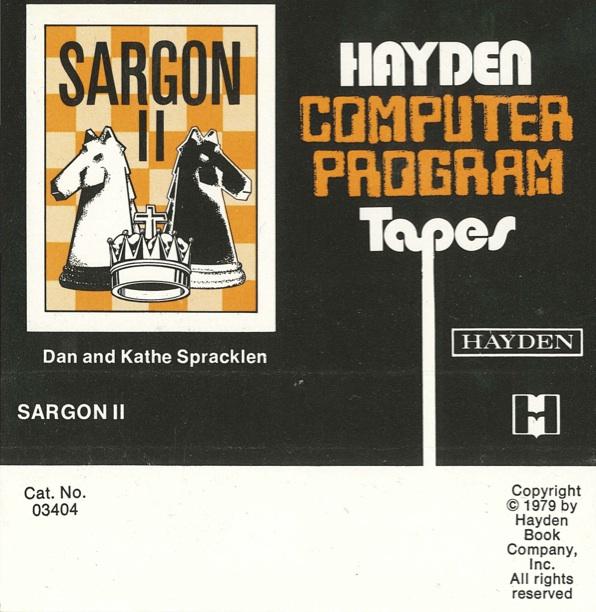Sargonii tape cover