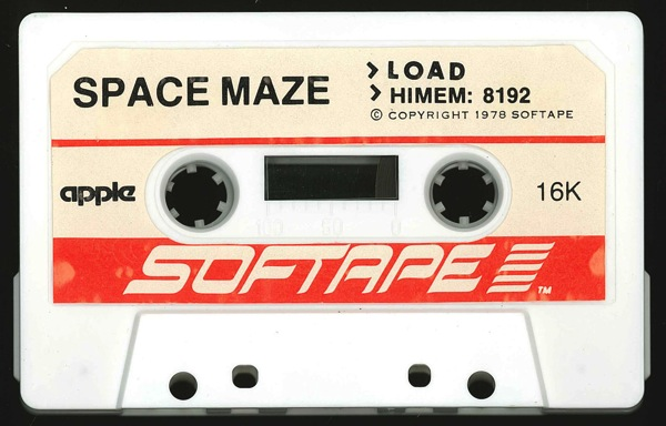 Space maze tape