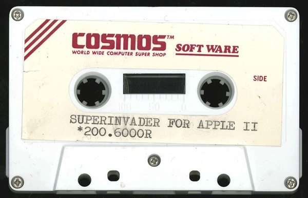 Superinvader tape front