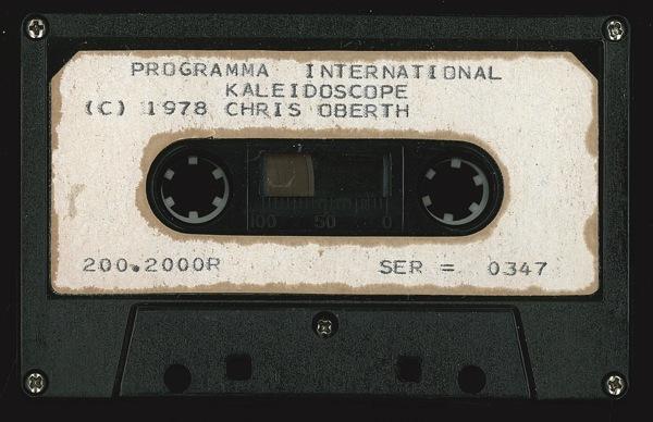 Kaleidoscope 347 tape