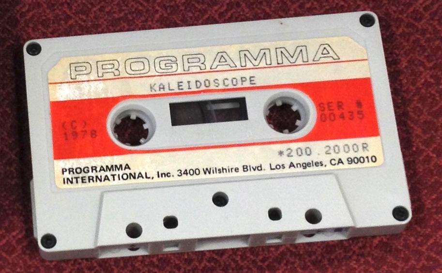 Kaleidoscope 435 tape