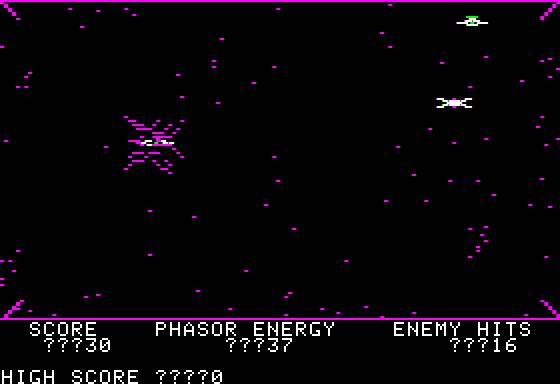 Phasor zap explosion