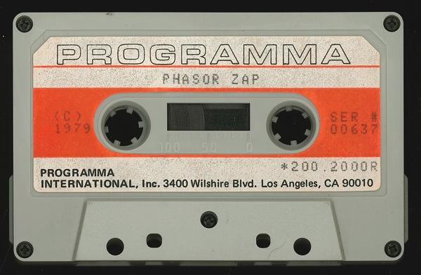 Phasor zap tape