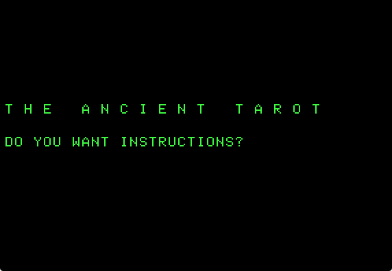 Tarot intro