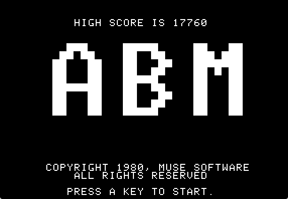 ABM title screen