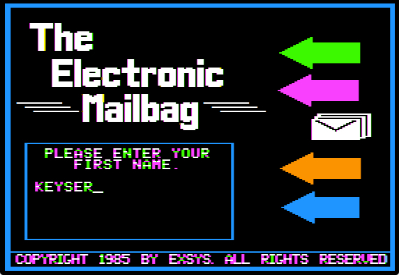 Mailbag login first