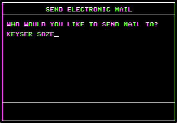 Mailbag send mail