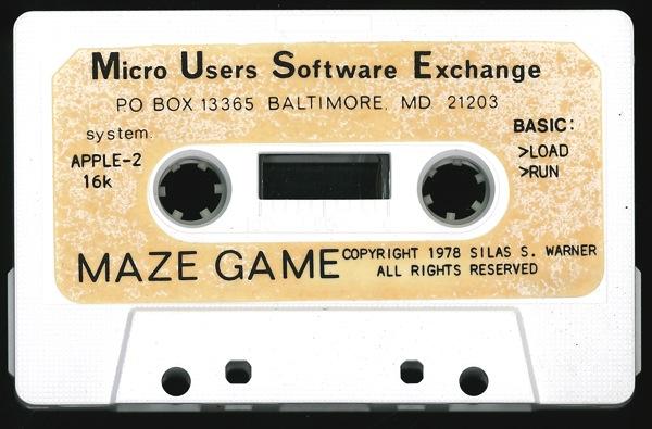 Mazegame tape 4