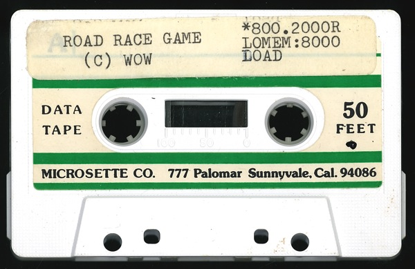 Wow road race tape