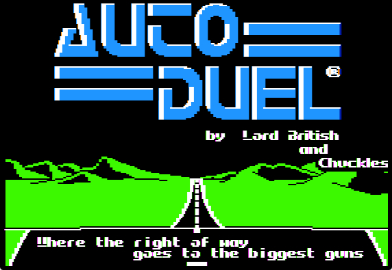Autoduel splash screen