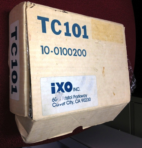 Ixo tc101 box