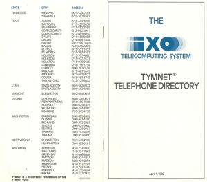Ixo tymnet directory