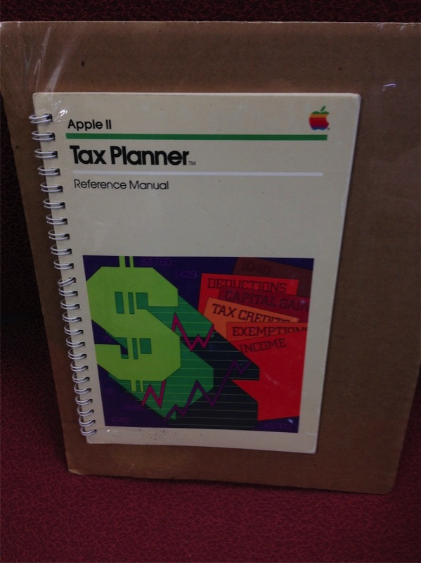 tax planner manual