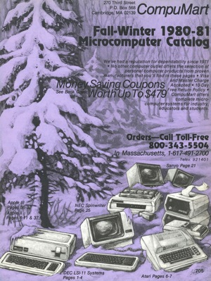 Compumart fall winter 1980 81