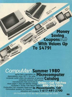 Compumart summer 1980