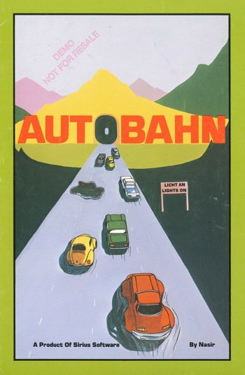 Autobahn instructions