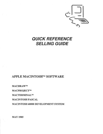 Dealer mac 1985 selling guide