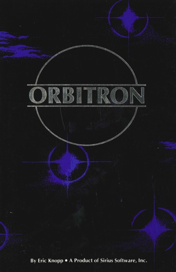 Orbitron instruction card