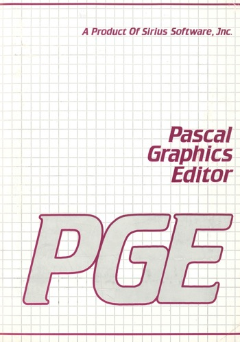 Pascal graphics editor manual