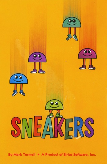 Sneakers instruction card