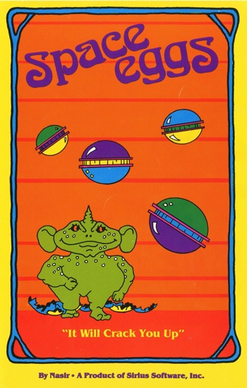 Space eggs instruction card