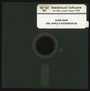 Alien rain 8275 disk front