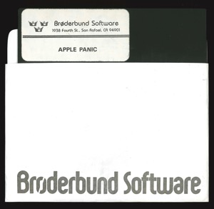 Apple panic 1342 disk sleeve front