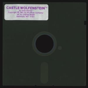 Castle wolfenstein 2932 disk front